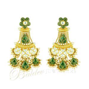 Indiase gouden oorbellen