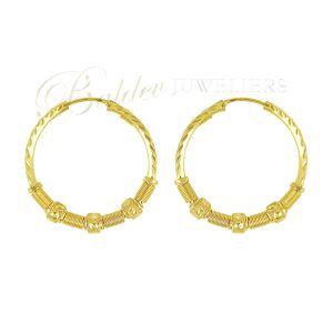 gouden dames oorbellen_EAR0193