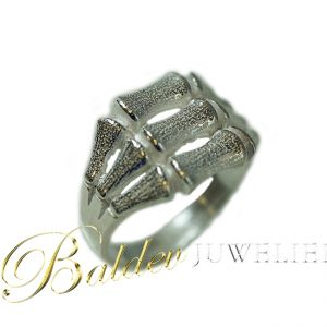 Bamboe-ring-zilver