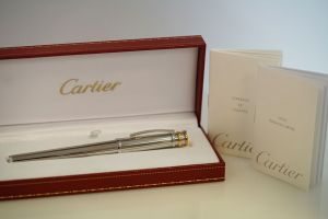 Cartier trinity fountain pen