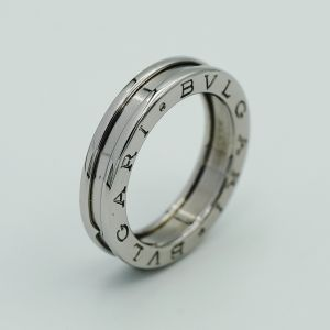 Bvlgari b.zero1 one band white gold ring