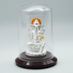 Ganesha-silver-murti-2