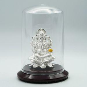 Ganesha-silver-murti