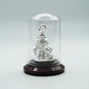 Hanuman-silver-murti