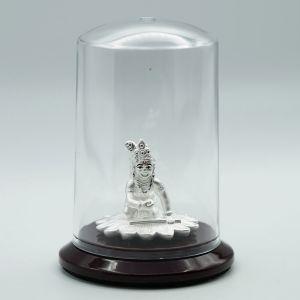 Krishna-silver-murti