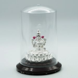 Laxmi-silver-murti
