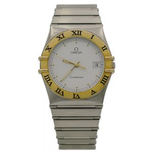 Omega Constellation gold steel-13