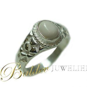 Piet-piet-ring-zilver-wittesteen-rond