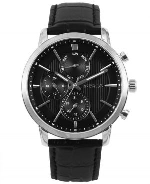 Prisma-P1579-heren-horloge-edelstaal-zwart