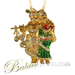 Radha Krishna 2D hanger