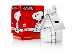 Verzilverd Spaarpot Snoopy