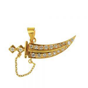 Hanger zwaard zirkonia