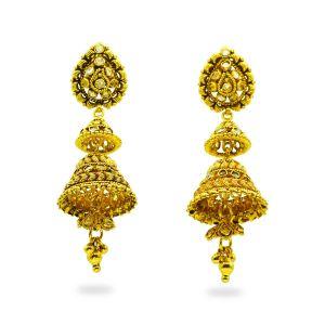 Gouden jhumka Anshika