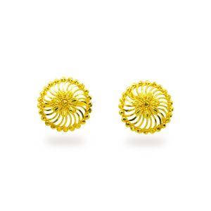 Gouden oorknoppen Ojasvi