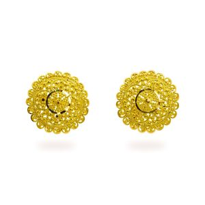 Gouden oorknoppen Niyati