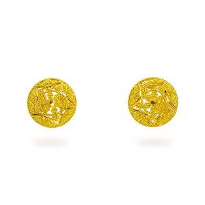Gouden oorknoppen Chaarvi