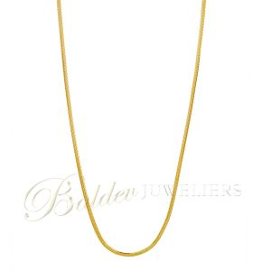 Ketting 22kt square Amar