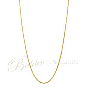 Ketting 22kt square Aarush