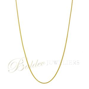 Ketting 22kt square Jayant