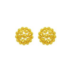 Gouden oorknop Indu