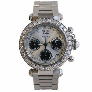 Cartier Pasha C Diamonds 3,20ct VVS TW