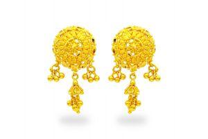 Gouden oorknoppen Mana