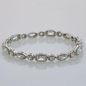 Bracelet met zirconias Amita
