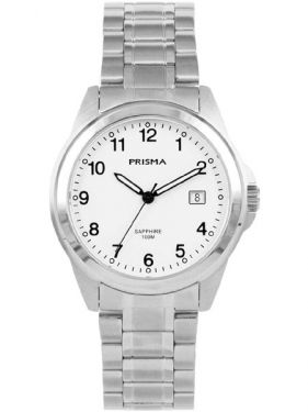 Prisma Horloge P1859 Heren Journey Mr. Trail Wit