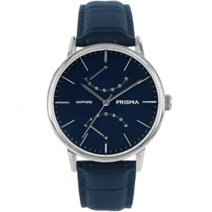 Prisma P1601 Voyage Blauw Horloge