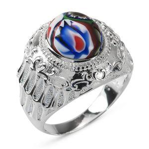 Heren Ring Zilver Ramon Alakondre medium
