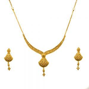 Gouden Indiase set Jeevika
