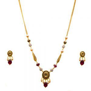 Gouden Indiase set Prisha