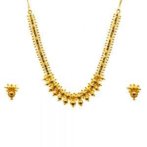 Gouden Indiase set Aaritra