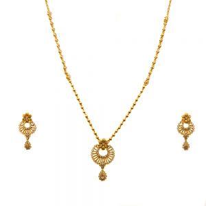 Gouden Indiase set Maanyata