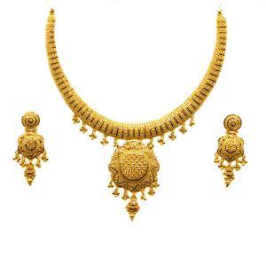 Gouden Indiase set Lekha
