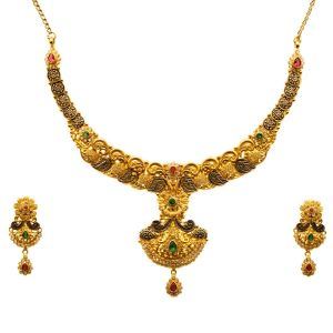 Gouden Indiase Set Manikarnika