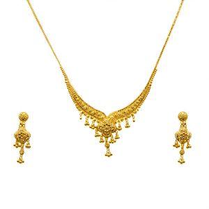 Gouden Indiase Set Priyanka