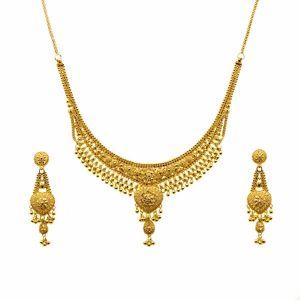 Gouden Indiase set Dharini