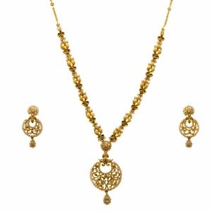 Gouden Indiase set Sadhvi