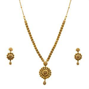 Gouden Indiase set Lalitha