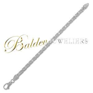 surinaamse zilver heren armband-5