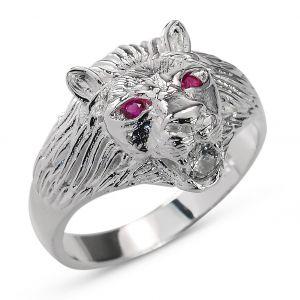 Heren Ring Zilver Lyon