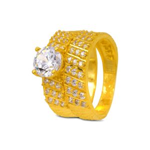 Engagement double ring Nitara
