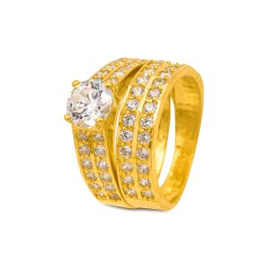 Engagement double ring Siara