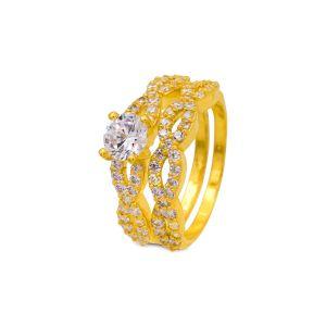 Engagement double ring Aadhya