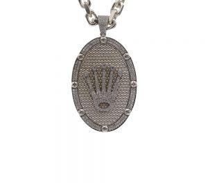 Zilveren Rolex Hanger